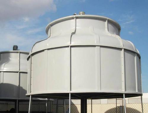 玻璃钢冷却塔厂家讲解冷却塔的热水自然流配水系统
