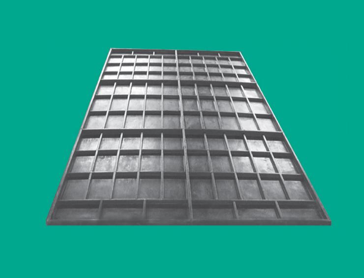 模压型玻璃钢梯子间装备封闭栅栏